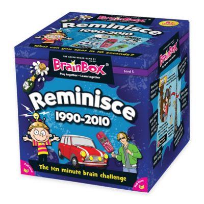 BrainBox® Reminisce 1990-2010