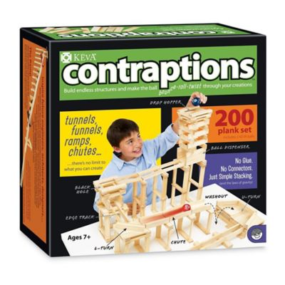 KEVA Contraptions 200-Piece Plank Set