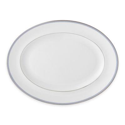 Vera Wang Wedgwood® Grosgrain Indigo 13.75-Inch Oval Platter