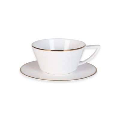 Gold Cup and Saucer