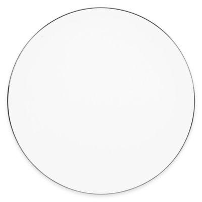 Olivia & Oliver Madison Platinum 13-Inch Round Platter