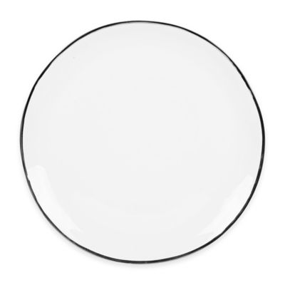 Olivia & Oliver Harper Organic Shape Platinum 13-Inch Round Platter