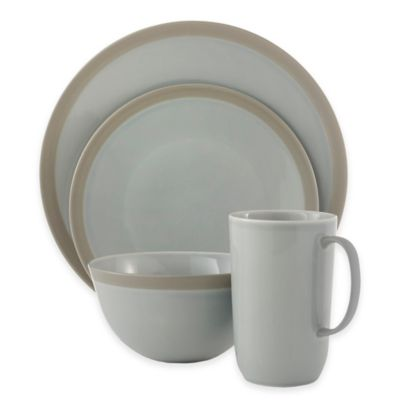 Vera Wang Wedgwood® Vera Gradients 4-Piece Place Setting in Mist