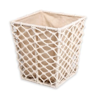 Journey Rope Wastebasket