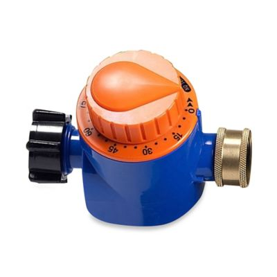 Simply Conserve® Lawn and Garden Hose Timer in Blue/Orange