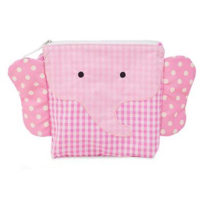 Nikiani My First Buddy Ellie Pink Elephant Snack Bag