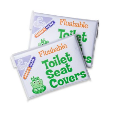 Mommy's Helper™ Froggie™ 20-Pack Flushable Toilet Seat Covers