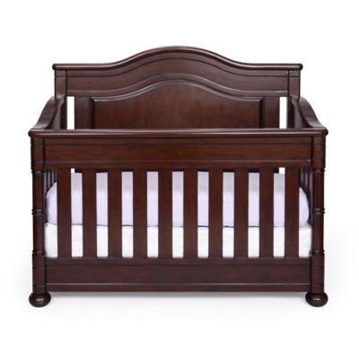 Simmons Kids® High Point 4-in-1 Convertible Crib in Molasses
