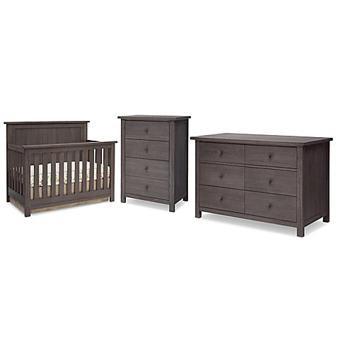 Serta Northbrook Nursery Furniture Collection In Rustic Grey Bed Bath Beyond