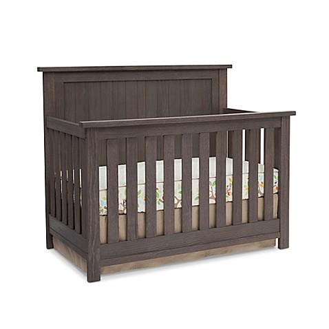 Serta 174 Northbrook 4 In 1 Convertible Crib In Rustic Grey