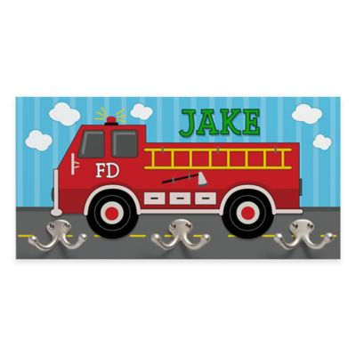 Fire Truck Coat Hanger