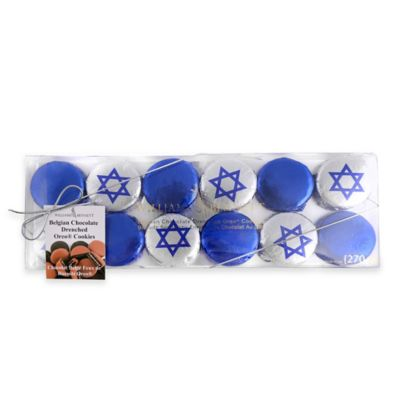 Hanukkah Belgian Chocolate Covered Oreo® Cookies