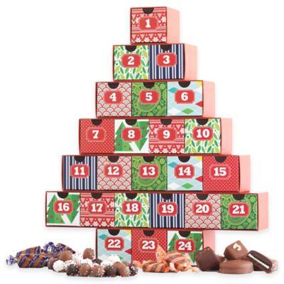 Mrs. Prindable's Christmas Advent Calendar with Assorted Chocolates