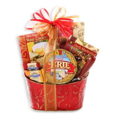 Alder Creek Cheese & Crackers Gift Basket