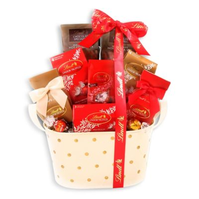 Lindt Chocolate Wishes Gift Basket