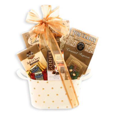 Cream Gift Baskets Gift Sets