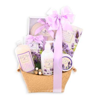 Alder Creek Lovely Lavender Gift Basket