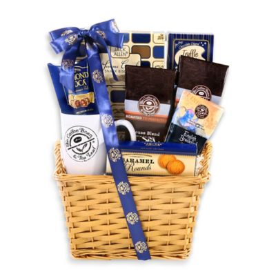 Alder Creek Coffee Bean, Tea Leaf Coffee & Sweets Gift Basket