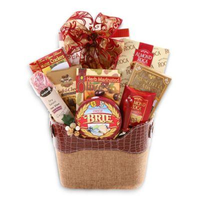Alder Creek For The Connoisseur Gift Basket