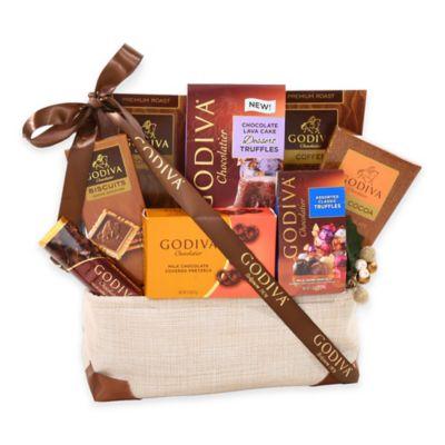 Grand Godiva Sampler Gift Basket