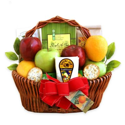 Holiday Fruit Greetings Basket