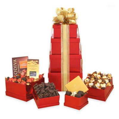 Godiva Chocolate Holdiay Gift Tower