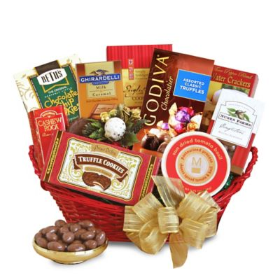 Sensational Season's Greetings Gift Basket