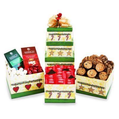 Holiday Hearts Tower Gift Set