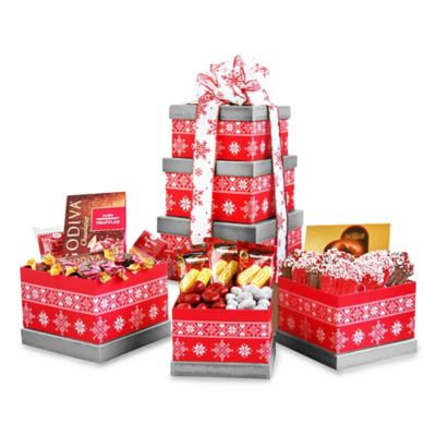 Alpine Delights Holiday Tower Gift Set