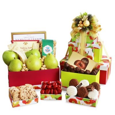 Fruitful Sweetness Gourmet Tower Gift Set