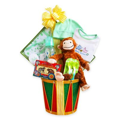 Monkey Drum Surprises Baby Gift Set