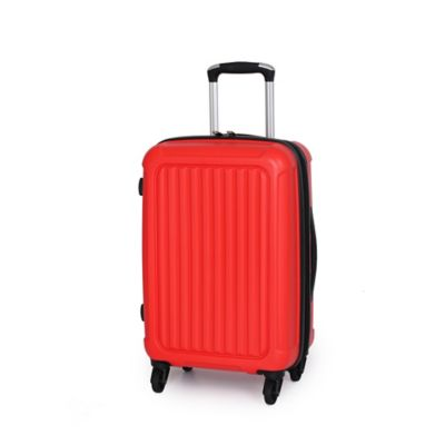 it Luggage Pulsar 22-Inch 4-Wheel Carry On Spinner in Orange