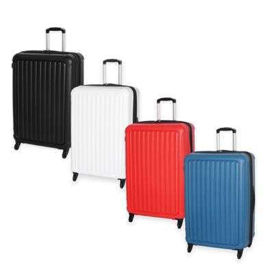 it Luggage Pulsar 30-Inch 4-Wheel Expandable Spinner in White