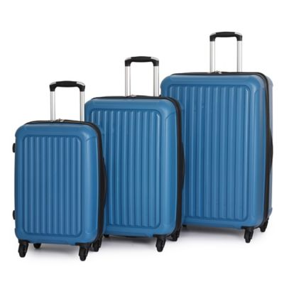 it Luggage Pulsar 3-Piece 4-Wheel Expandable Spinner Set in Orange