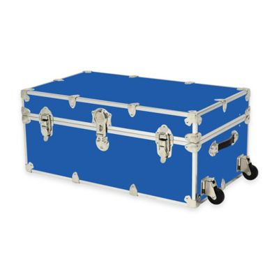 Rhino Trunk and Case® Large Rhino Armor Large Trunk with Removable Wheels in Royal Blue