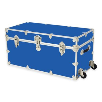 Rhino Trunk and Case™ XXL Rhino Armor Large Trunk with Removable Wheels in Royal Blue