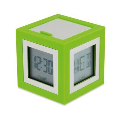 LEXON® Cubbisimo Cube Alarm Clock