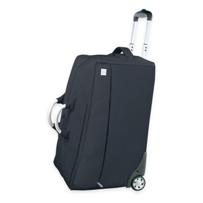 LEXON® Airline Cabin Bag on Wheels in Black