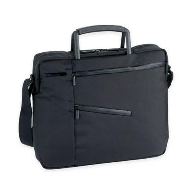 LEXON® Challenger Mini Laptop Briefcase in Black