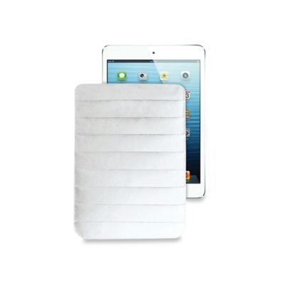 LEXON® iPad® Air Mini Pouch in White Tyvek