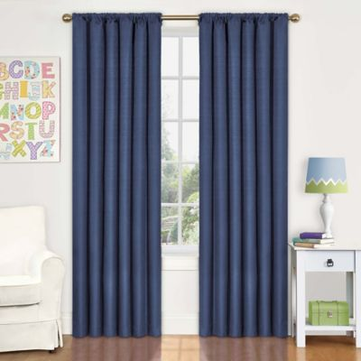 Denim Window Curtains