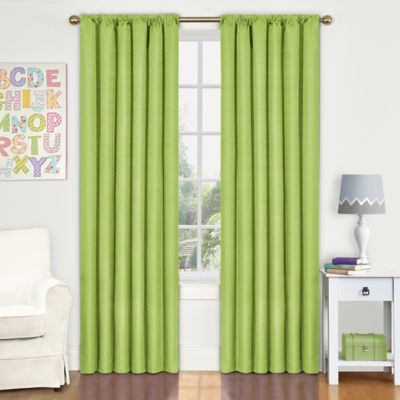Insola Kate 63-Inch Rod Pocket Blackout Window Curtain Panel in Raspberry