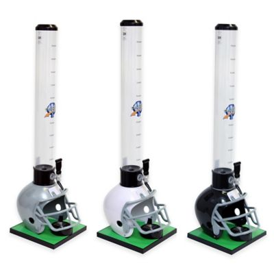 Drink Tubes™ 100 oz. Football Helmet Drink Dispenser with Standard Tap in Black