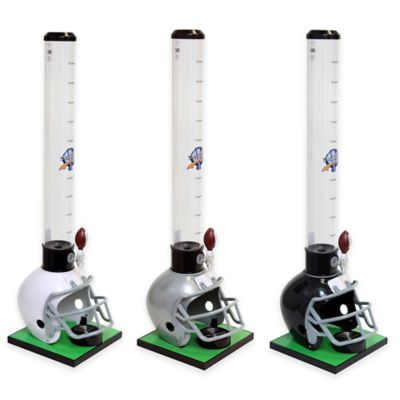 Drink Tubes™ 100 oz. Football Helmet Drink Dispenser with Football Tap in Black