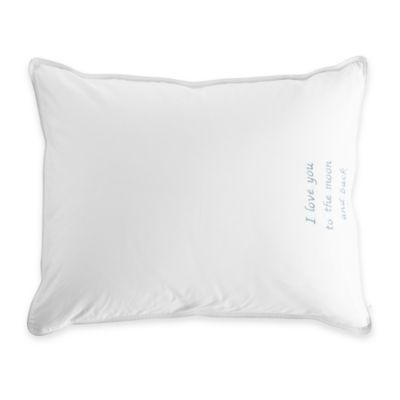 The Pillow Bar® Breakfast in Bed™ Petite Down Alternative Pillow in White