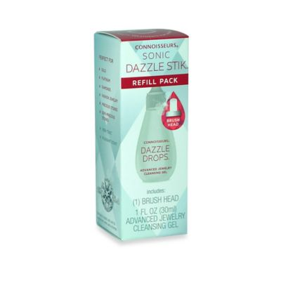 Connoisseurs Advanced Jewelry Cleansing Refill for Sonic Dazzle Stik