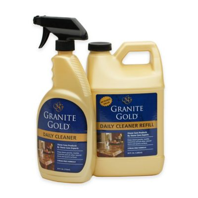 Granite Gold® 64 oz. Daily Cleaner with Bonus 24 oz. Spray Bottle