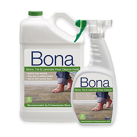 Bona 174 160 Oz Stone Tile And Laminate Floor Cleaner