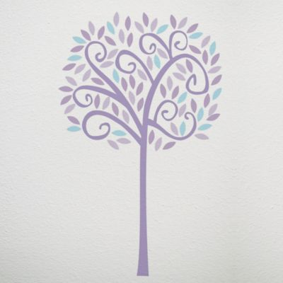 CoCaLo® Mix & Match Violet Jumbo Tree Wall Decal