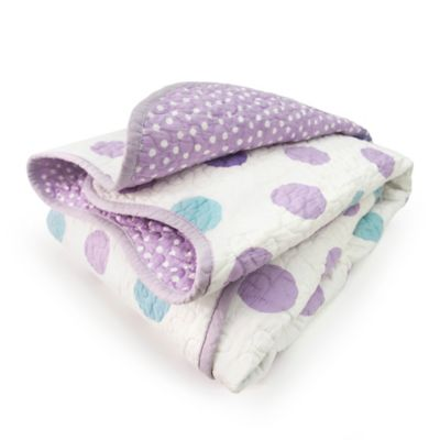 CoCaLo® Mix & Match Violet Dot Coverlet